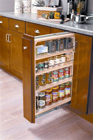 Rollout Cabinet Shelf by Shelf Improvement, Kitchen Slide-Out Shelves