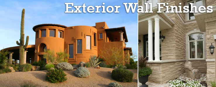Home Exterior wall finishes contractor Los Angeles, Orange County, Ventura California