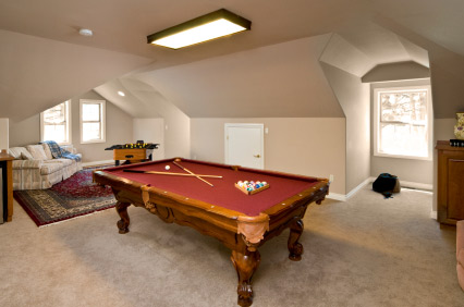 Atiic Conversion to game room