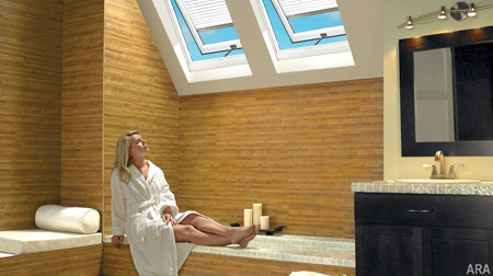 Bathroom Vanities Orange County on The Natural Chimney Effect Of Venting Skylights In The Bath Passively