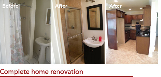 Complete home renovation Duarte