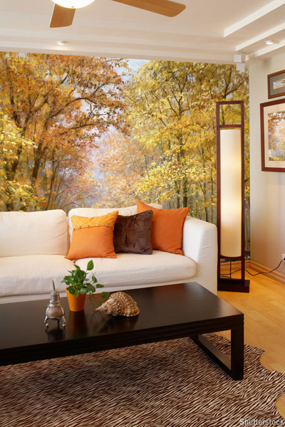 Image gallery nature wallpaper room Nature bedroom