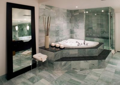 washroom marble floor apartment