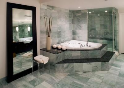 washroom marble floor apartment