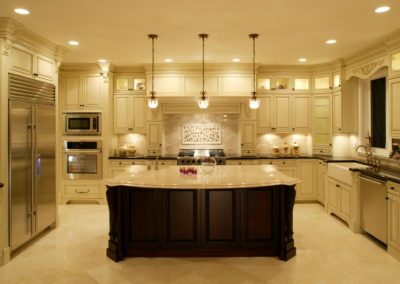 white kitchen modern house mansion