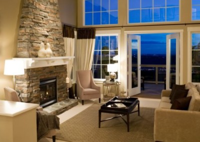 living room fireplace mansion house