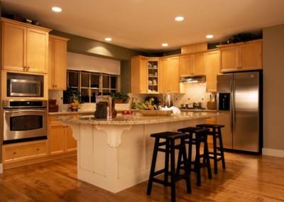 kitchen in house